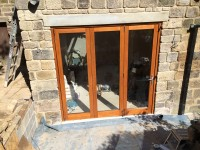 Bifolding-door
