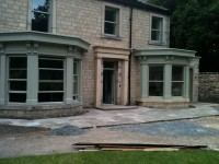 Front extension near completion
