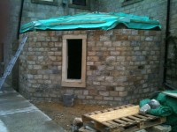 Stone extension construction