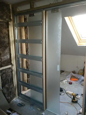 glass-pocket-doors-construction