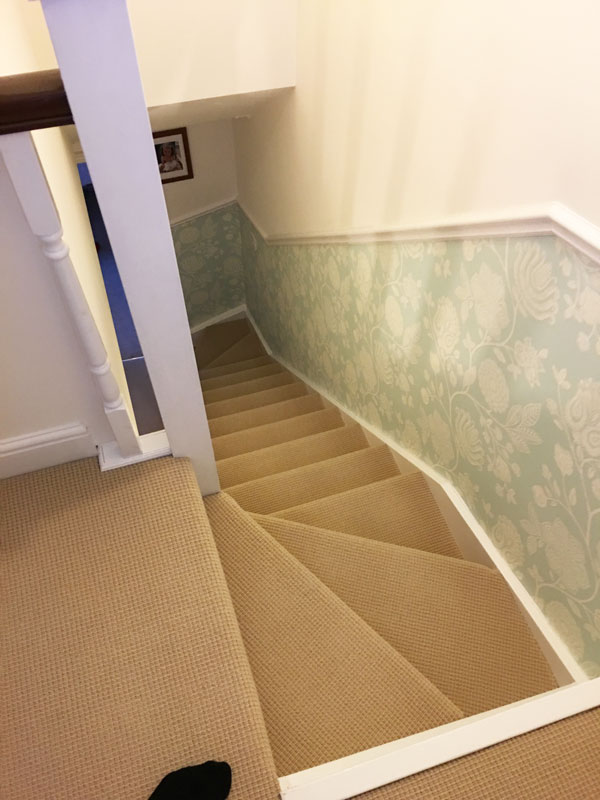 A Quality Finished Loft Stairwell Blog