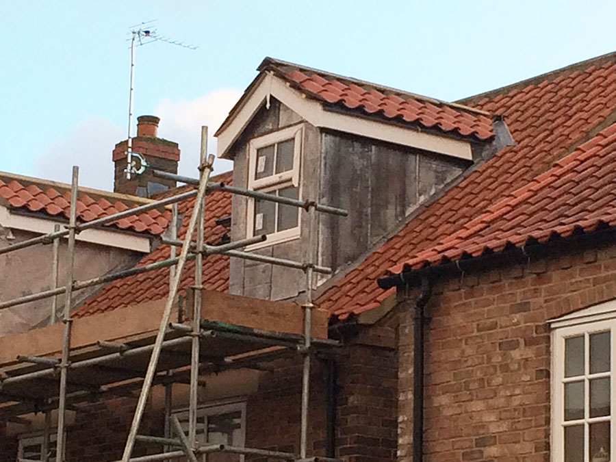 lead finish dormer