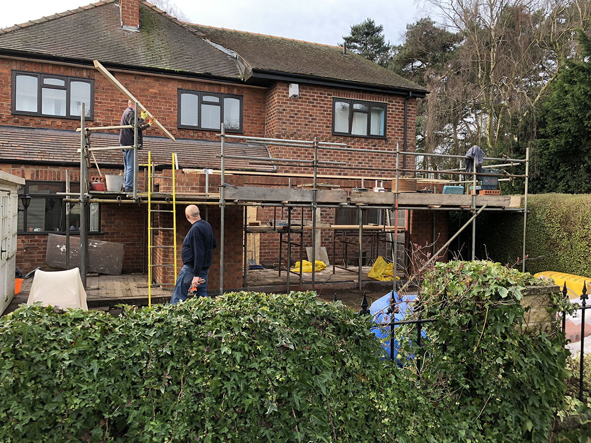 Home Extension Work